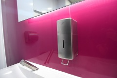 commerical-washroom-soap-dispenser-franke-trough-office-toilet-design-infra-red-taps-wc